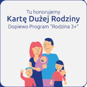 Karta Dużej Rodziny - Program Dopiero Rodzina 3+